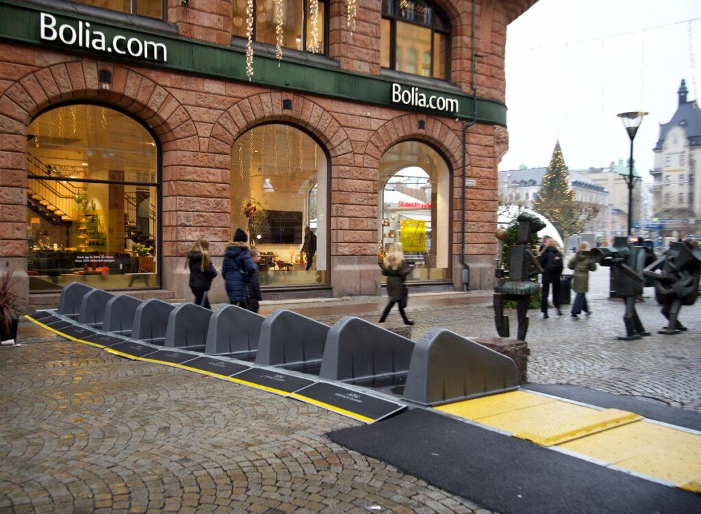 Surface Guard anvendt på julemarked i Malmø